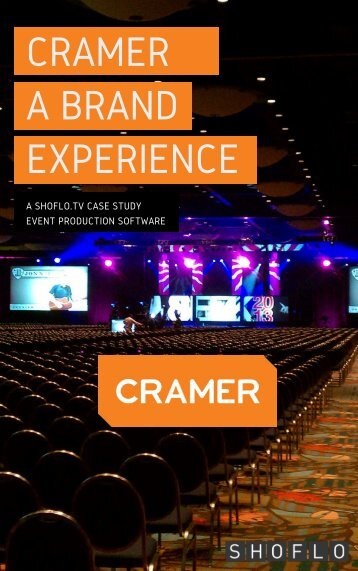 CRAMER A BRAND EXPERIENCE