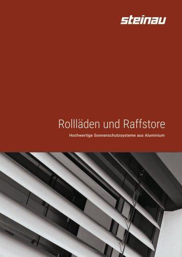 Rollläden Raffstore