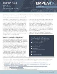 ESG in Infrastructure