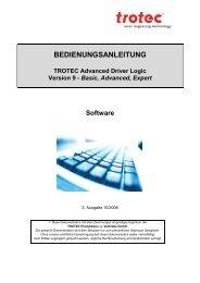 Basic, Advanced, Expert Software - Trotec Laser Inc