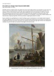 De zeekist van schipper Tjeerd Tjeerds (1658-1698)