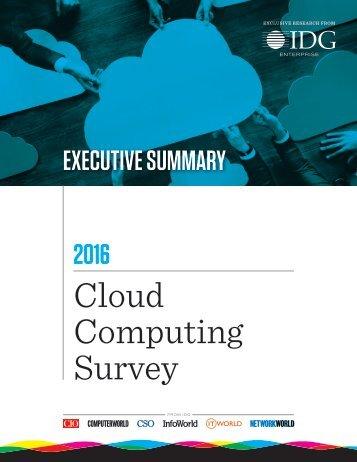 Cloud Computing Survey
