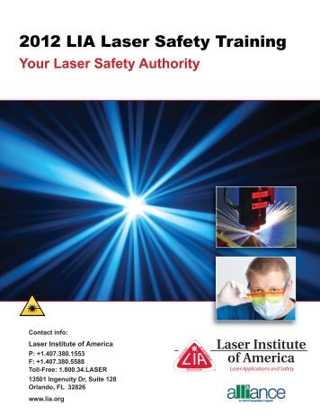 Your Laser Safety Authority