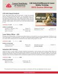 Your Laser Safety Authority - Page 2
