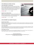 Your Laser Safety Authority - Page 3