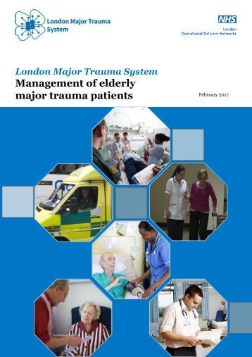 Management of elderly major trauma patients