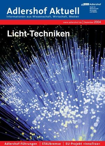 Assoziationen mit Licht - Adlershof