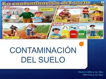 CONTAMINACIÓN DEL SUELO