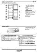 KitchenAid T 16 A1 D/HA - Fridge/freezer combination - T 16 A1 D/HA - Fridge/freezer combination LV (F093240) Use and care guide - Page 5