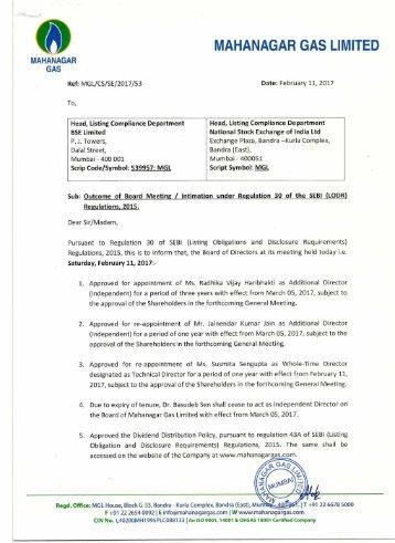 Mahanagar gas limited tenders dating