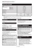 Makita Visseuse à chocs 18 V Li-Ion 170 Nm (Produit seul) - DTD153Z - Notice - Page 4