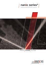 NANIO series - InnoLas Laser