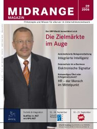 Midrange MAGAZIN September 2006