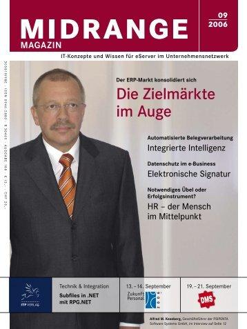 Midrange MAGAZIN September 2006