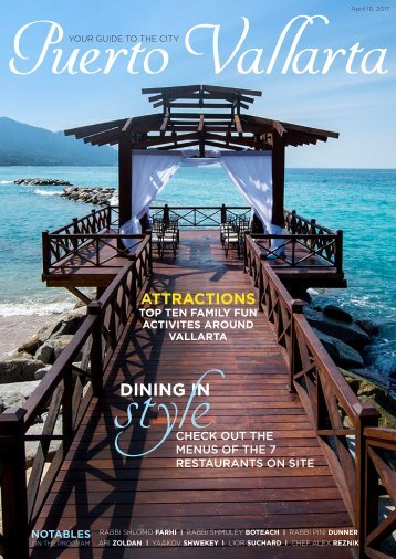Pesach in Vallarta Magazine