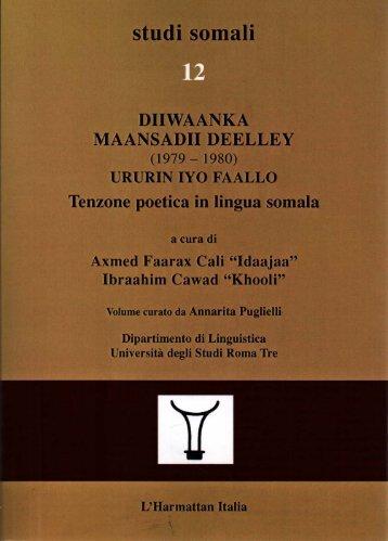 Diiwaanka Maansadii Deelley (1979-1980) - Studi Somali 12