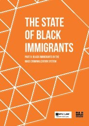 The State of Black Immigrants
