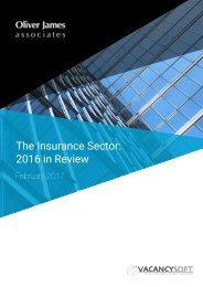The Insurance Sector 2016 in Review