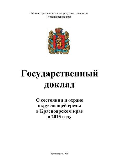 Государственный доклад