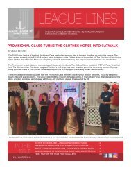 JLH League Lines Fall and Winter 2016
