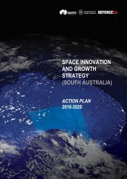 SPACE INNOVATION AND GROWTH STRATEGY (SOUTH AUSTRALIA)