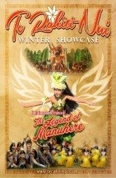 Te Rahiti Nui 2017 Winter Showcase