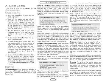 When Worlds Collide - Reactor Control (PDF, 448K)