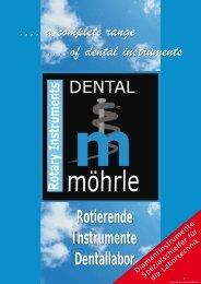 Rotierende Instrumente Dentallabor - Möhrle Dental