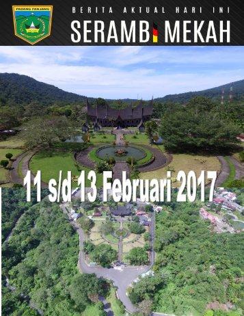 e-Kliping 11 s/d 13 Februari 2017