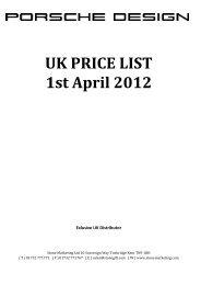UK PRICE LIST 1st April 2012 - Stone Marketing