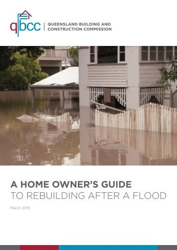 TO REBUILDING AFTER A FLOOD