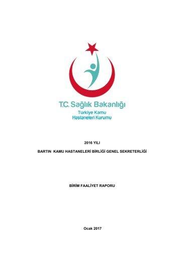 dari Birim Faaliyet Raporu 2016-1