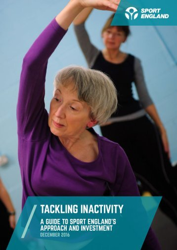 TACKLING INACTIVITY