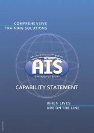 3 5 8 19 35 39 - AIS Ltd