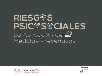 RIESGOS PSICOSOCIALES La Aplicación de Medidas Preventivas | Créditos