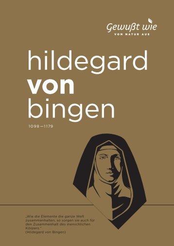 Hildegard von Bingen Broschüre