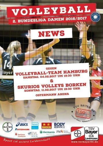 Spieltagsnews Nr. 08 gegen Hamburg & Borken
