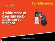 Bags & Backpacks - Chameleon Print Group - Australia