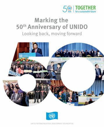 Marking the 50 Anniversary of UNIDO
