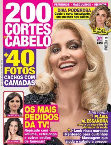 200 Cortes de Cabelo - Edição 35 - (Abril e Maio 2016)