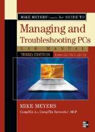 CompTIA A+ Guide to Managing and ... - Bob Hope School