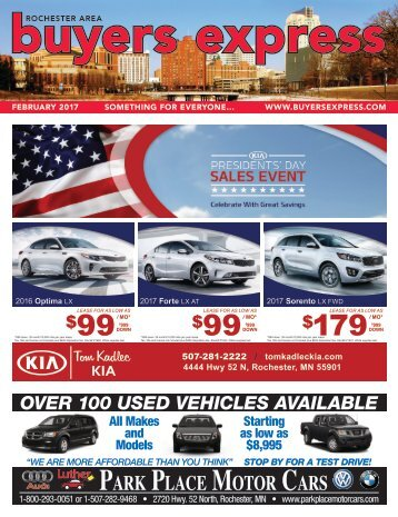 Buyers Express - Rochester Edition - February 2017
