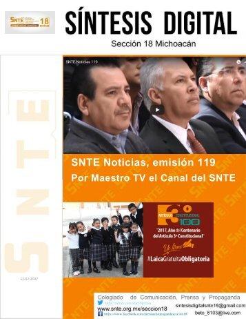 SNTE Noticias emisión 119