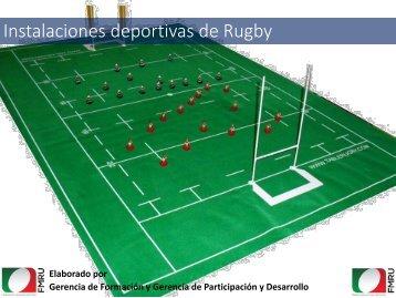 Instalaciones deportivas de Rugby
