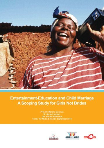 A Scoping Study for Girls Not Brides
