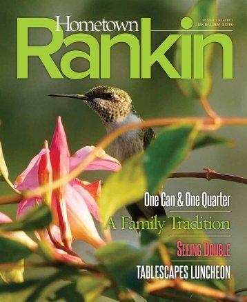 Hometown Rankin - June & July 2015