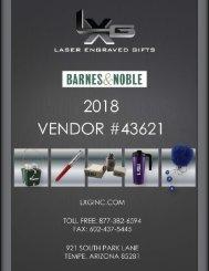 LXG B&N Catalog Priced