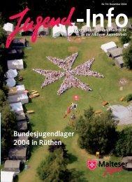 Bundesjugendlager 2004 in Rüthen - Malteser Jugend Diözese ...