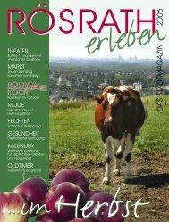 für rösrath - Bauer & Thöming Verlag