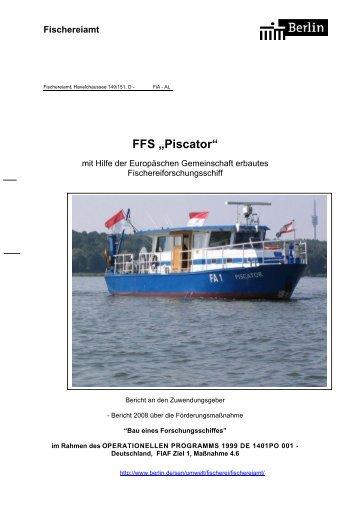 """FFS """"Piscator"""" - Senatsverwaltung für Stadtentwicklung - Berlin.de"""